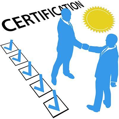 C.S.C Certification - Marketing Online