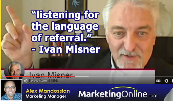 Business Networking Guru - Ivan Misner